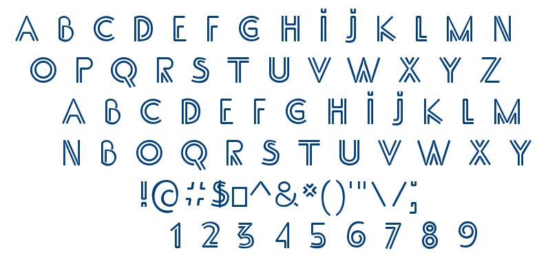 SS Adec font
