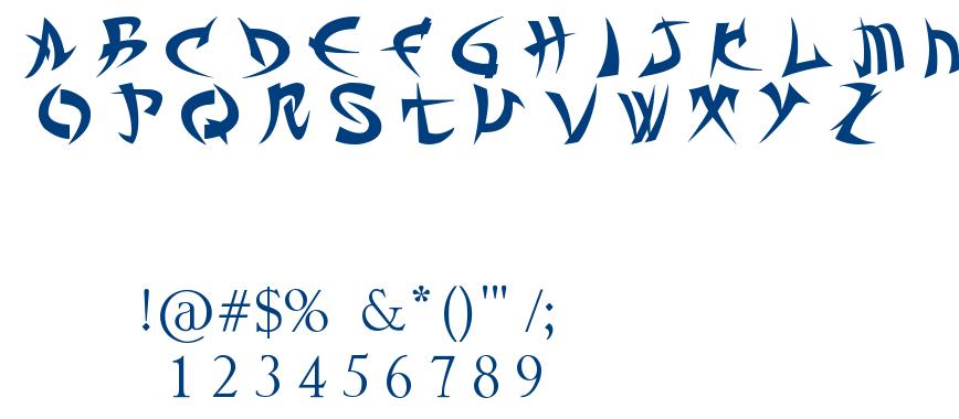 TROLL KABBÁ font