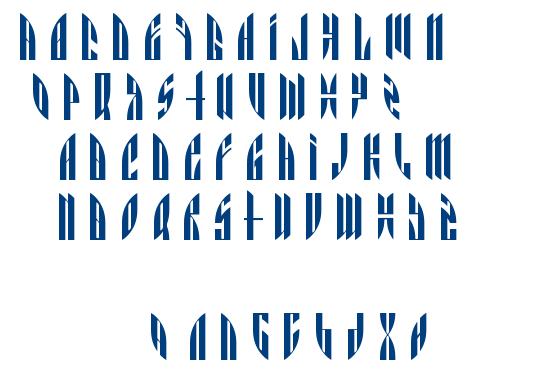 Angryorange font