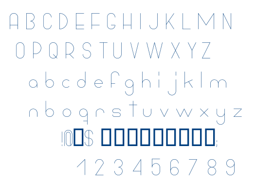 Bowhouse font