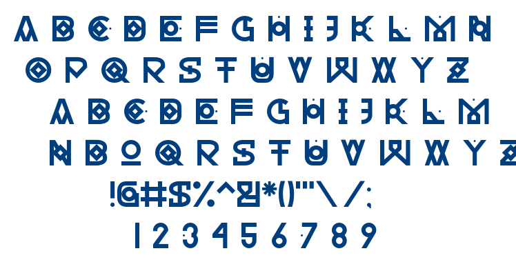 Hectica font