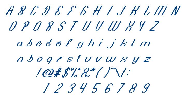 Bionic Heart font