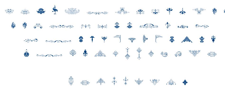Soft Ornaments Eleven font