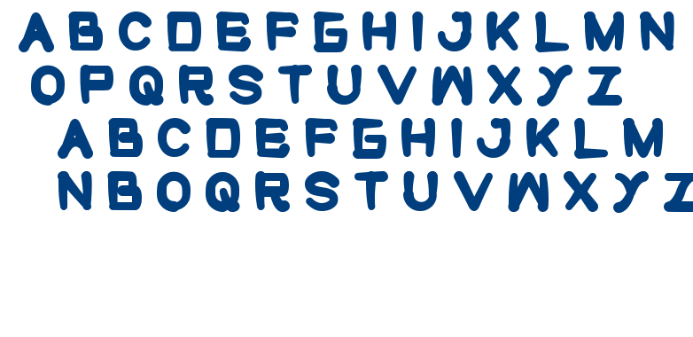 cute monster font