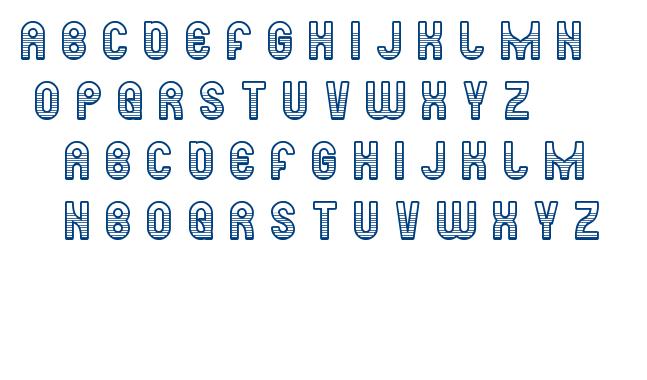 ready steady go font