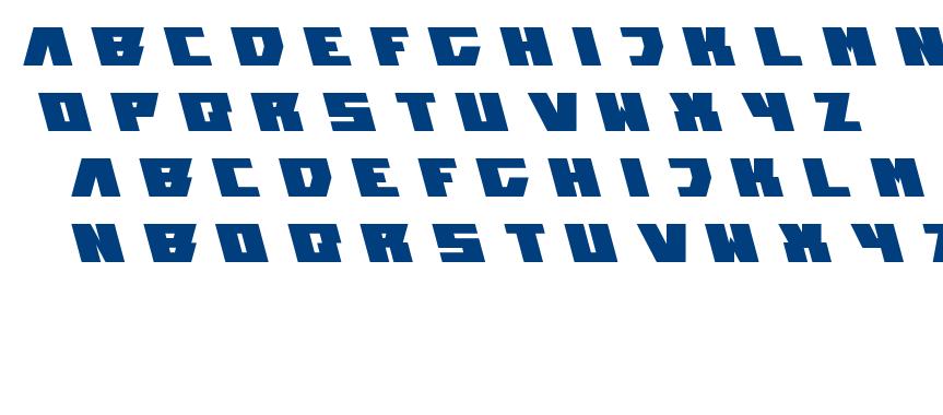 transformation font