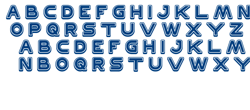 DISCOVERY font