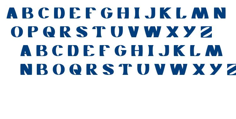MONOCHROME font