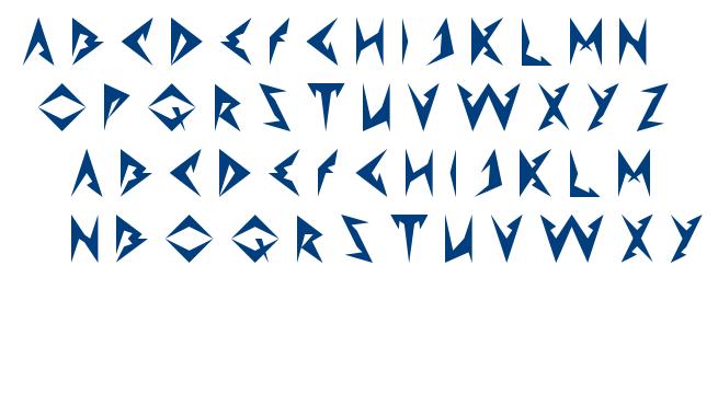 Shinobi Ninja font