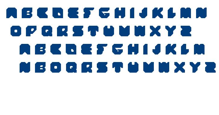 stranger font