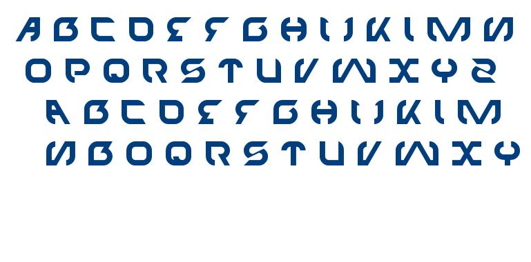 TECHNO font