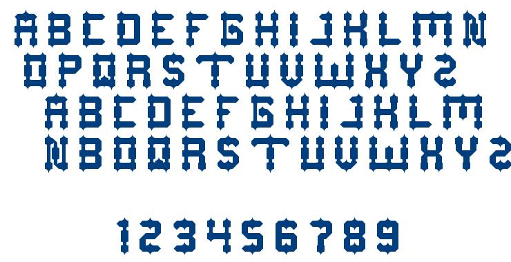 DRAKO HEART font