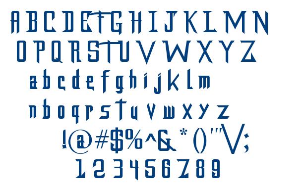 DragonForcE font