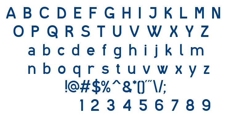 I shot the Serif font