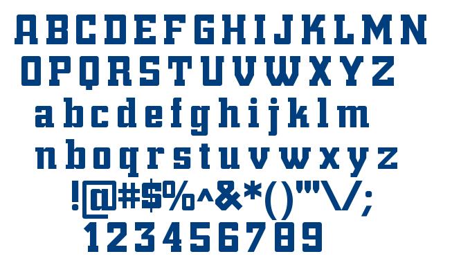 NightBits font