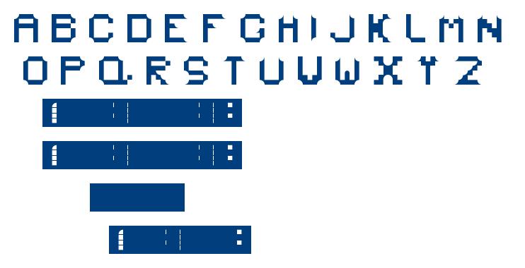 PLASMA font