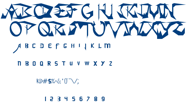 Soul Calibur font