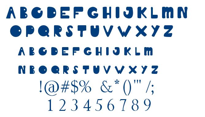 Summer Of Love font