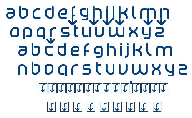 Betaport font