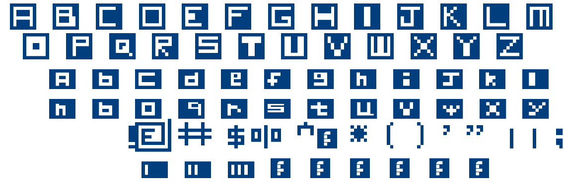 Insider font