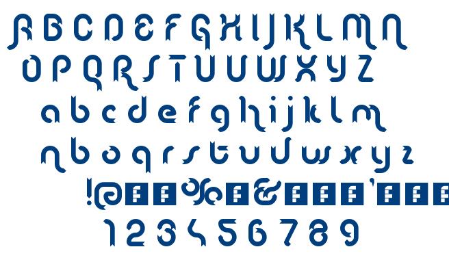 Lenta font