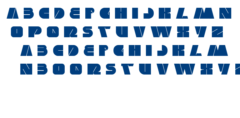 monster rock font