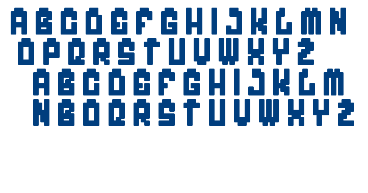 My Game font