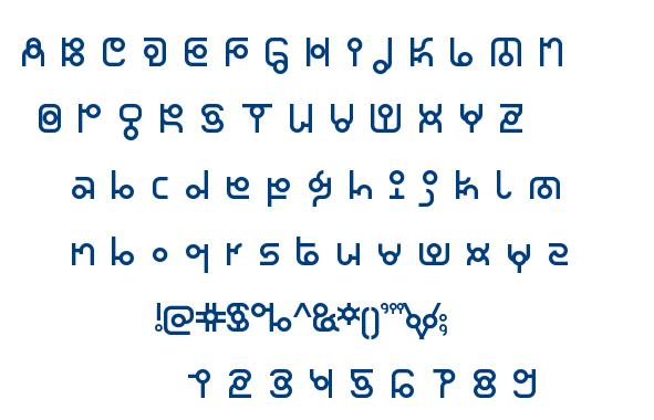 Thaiana Jones font