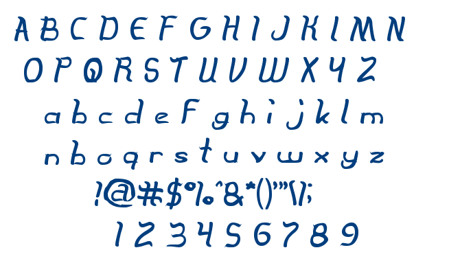 The Innocent Face font