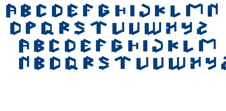 this is true font