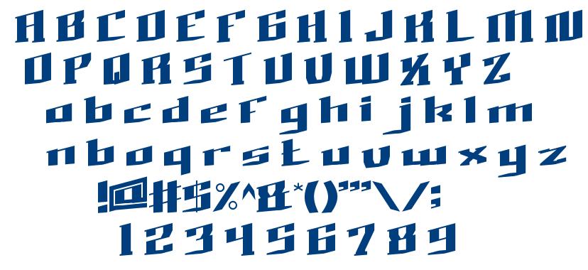 BAD BOY font