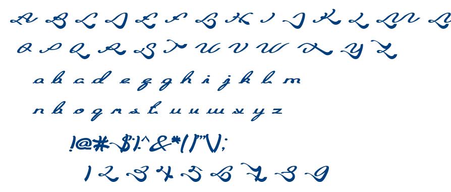 Blessing Son font
