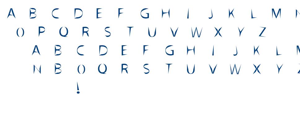 Gracili font