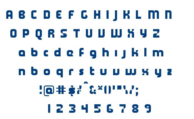 Kamy font