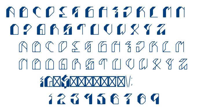 Leptoc font