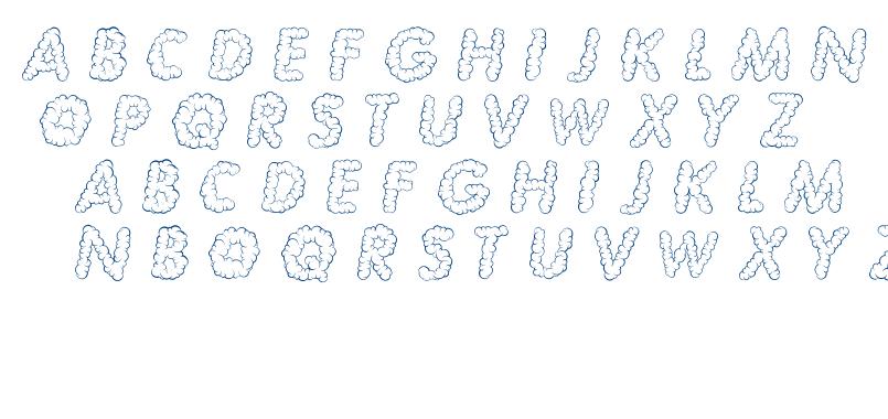 NUBLES font