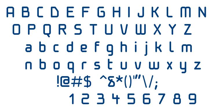 Hopa font