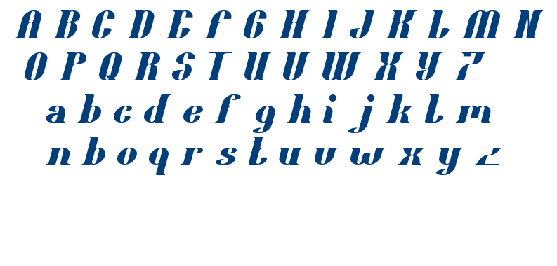 oceanography font