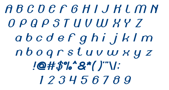 Engine Power font
