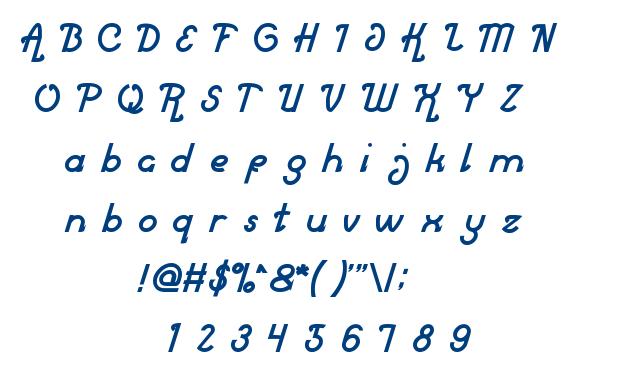 Market Leader font