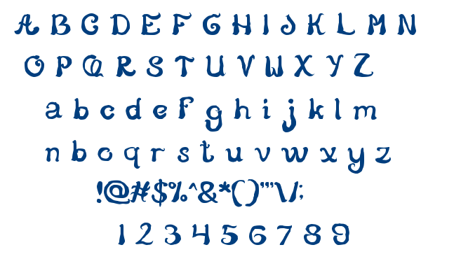 Story Telling font