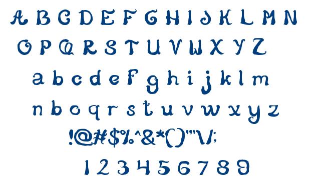 Story Telling font