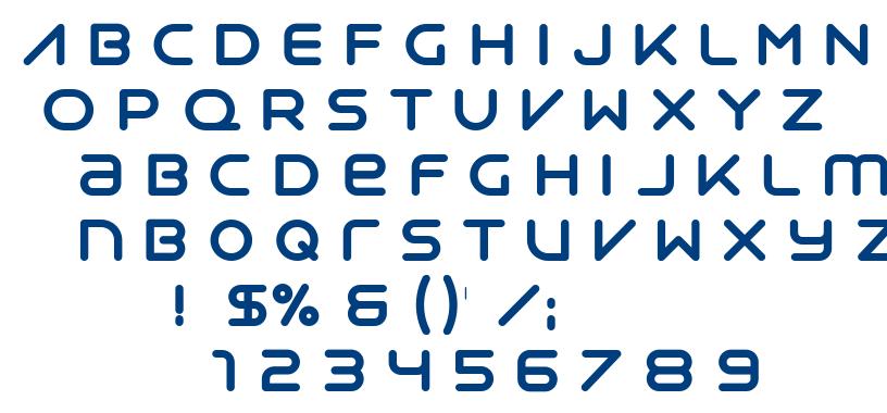 Syntha font