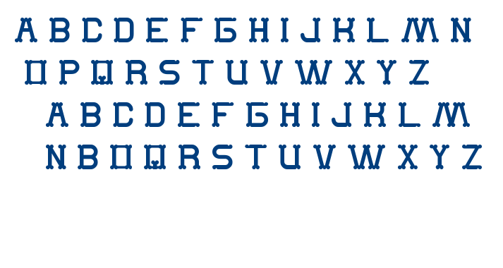 The Monkey font