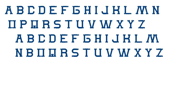 The Monkey font