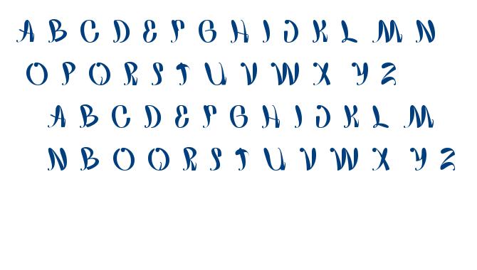 happy home font