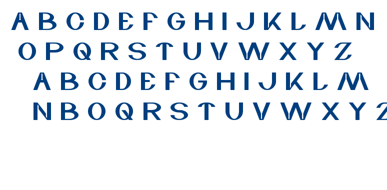 wave zone font