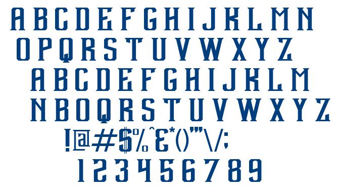 Debute font