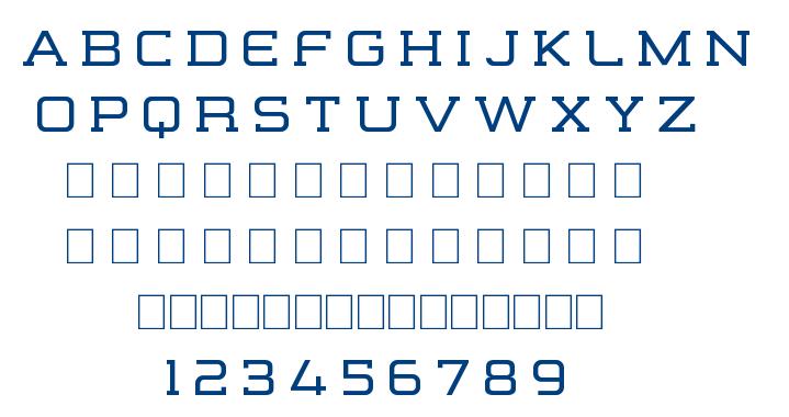 Formation Serif font