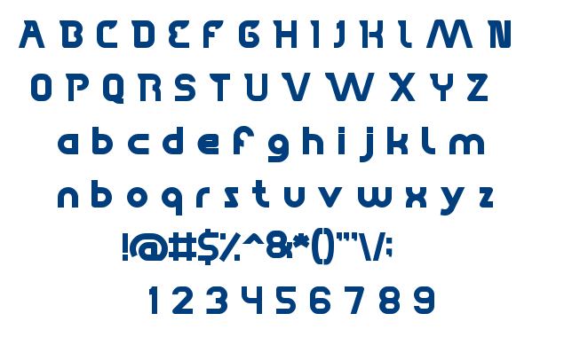 High Flagship font